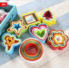 Cookie Biscuit Cutters Set