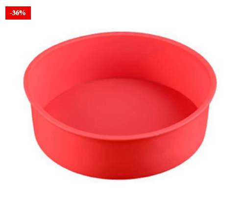 Silicone Cake Moulds Round Baking Pan