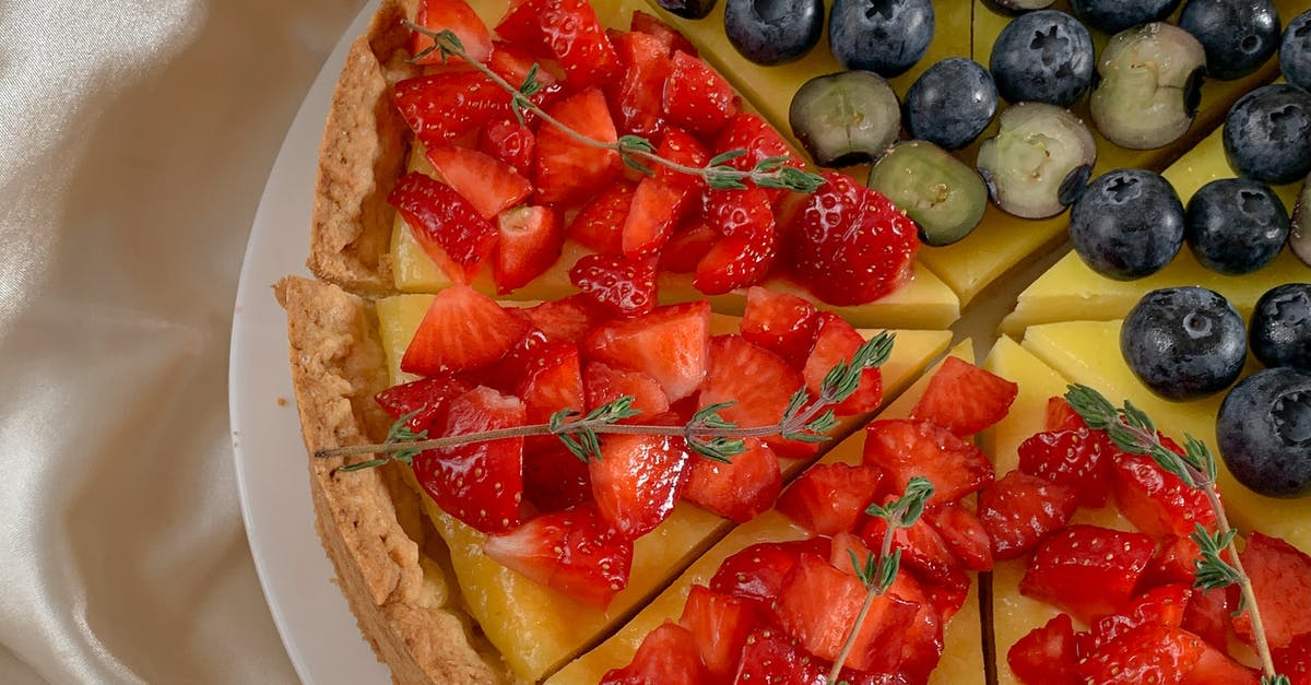 A plate of food with fruit